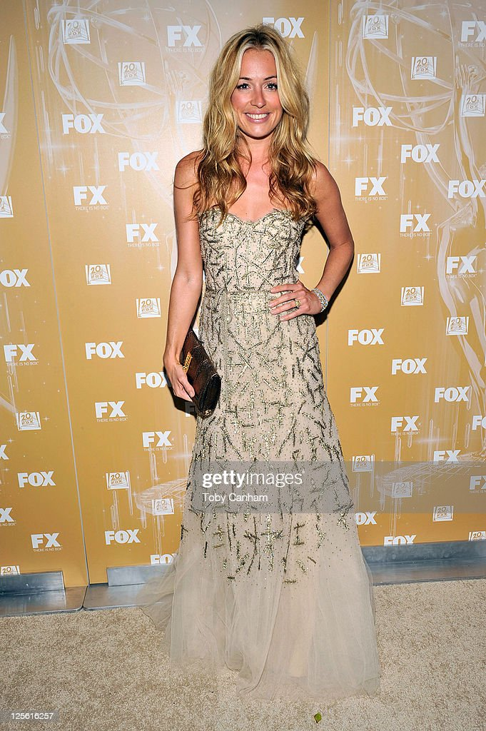 Cat Deeley arrives for the Fox Broadcasting Company, Twentieth Century Fox Television And FX 2011 Emmy after party on September 18, 2011 in West Hollywood, California.
