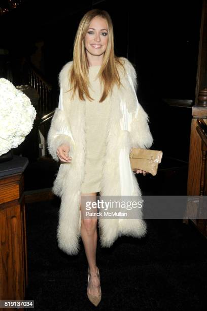Cat Deeley attends CHANEL and CHARLES FINCH PreOscar Dinner at Madeo Restaurant on March 6 2010 in Beverly Hills California