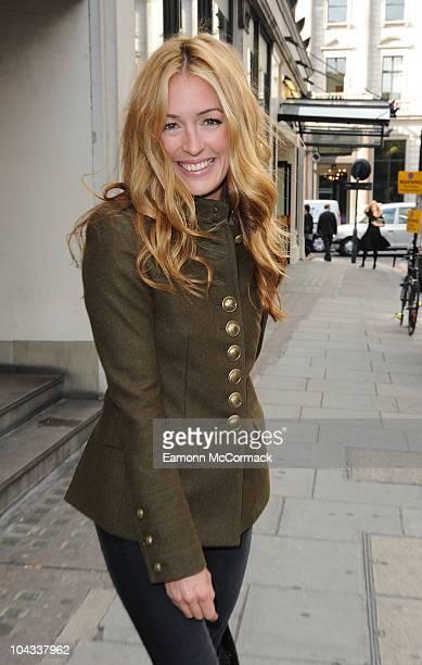 Cat Deeley attends Emilio de la Morena's Tea Party at Harvey Nichols on September 21 2010 in London England