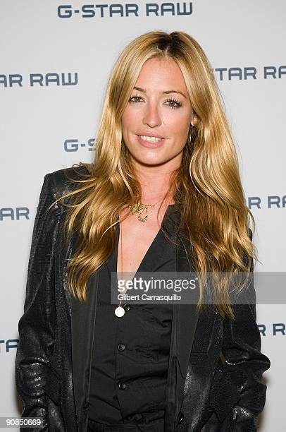 Cat Deeley attends GStar Spring 2010 during MercedesBenz Fashion Week at the Hammerstein Ballroom on September 15 2009 in New York City