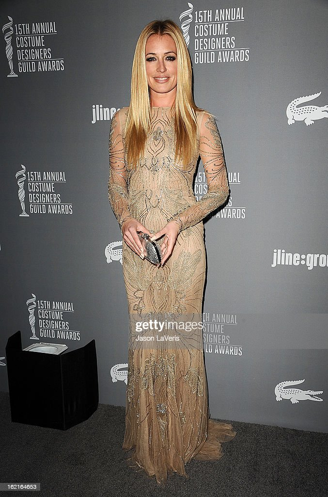 <a gi-track='captionPersonalityLinkClicked' href=/galleries/search?phrase=Cat+Deeley&family=editorial&specificpeople=202554 ng-click='$event.stopPropagation()'>Cat Deeley</a> attends the 15th annual Costume Designers Guild Awards at The Beverly Hilton Hotel on February 19, 2013 in Beverly Hills, California.