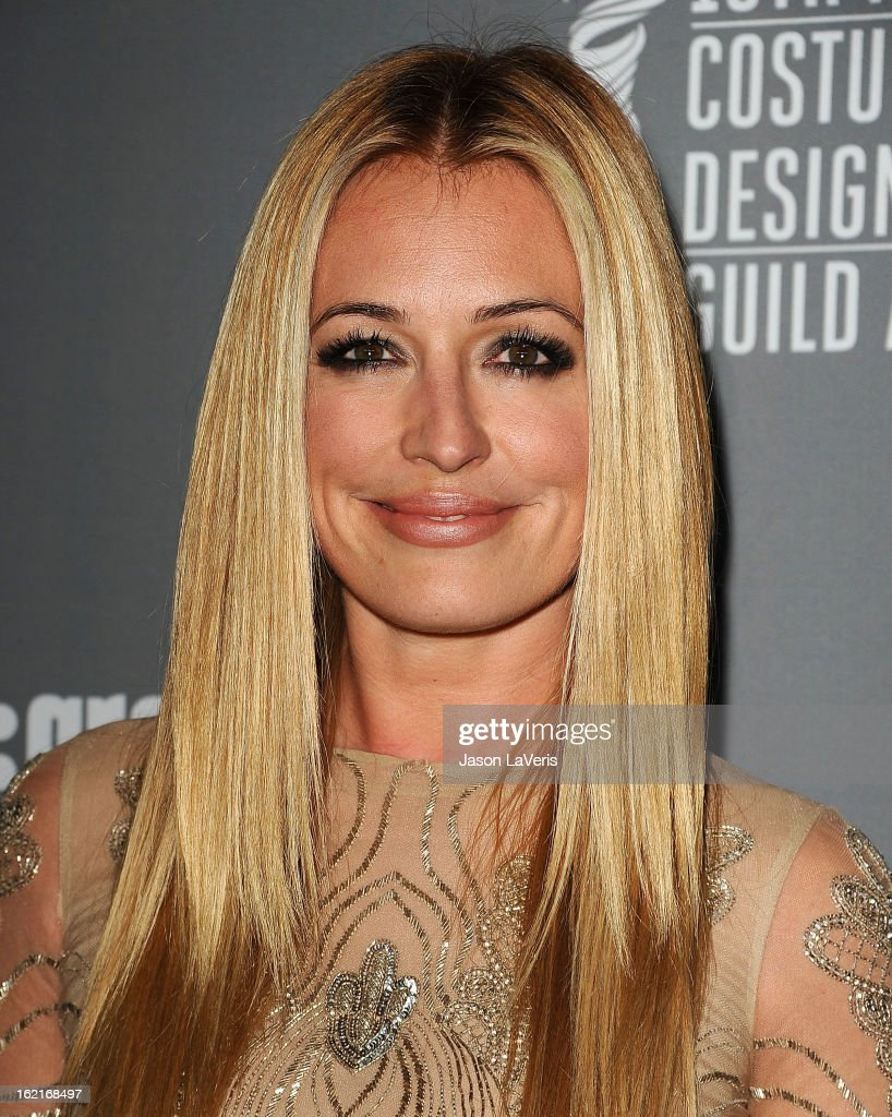 Cat Deeley attends the 15th annual Costume Designers Guild Awards at The Beverly Hilton Hotel on February 19, 2013 in Beverly Hills, California.
