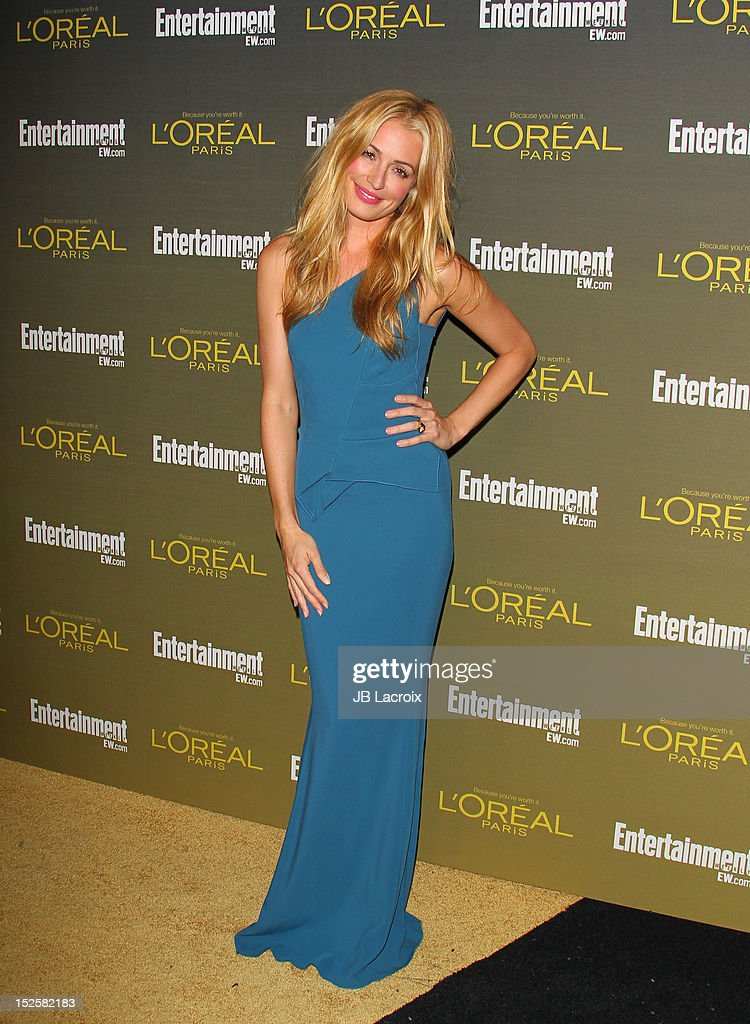 Cat Deeley attends the 2012 Entertainment Weekly Pre-Emmy Party at Fig & Olive Melrose Place on September 21, 2012 in West Hollywood, California.