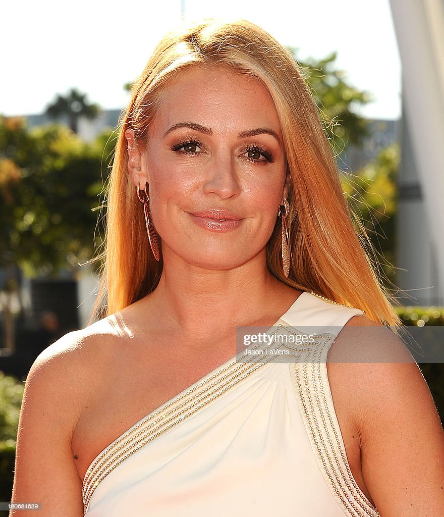 <a gi-track='captionPersonalityLinkClicked' href=/galleries/search?phrase=Cat+Deeley&family=editorial&specificpeople=202554 ng-click='$event.stopPropagation()'>Cat Deeley</a> attends the 2013 Creative Arts Emmy Awards at Nokia Theatre L.A. Live on September 15, 2013 in Los Angeles, California.