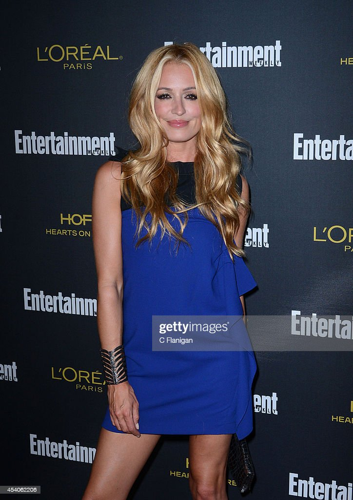 Cat Deeley attends the 2014 Entertainment Weekly Pre-Emmy Party at Fig & Olive Melrose Place on August 23, 2014 in West Hollywood, California.
