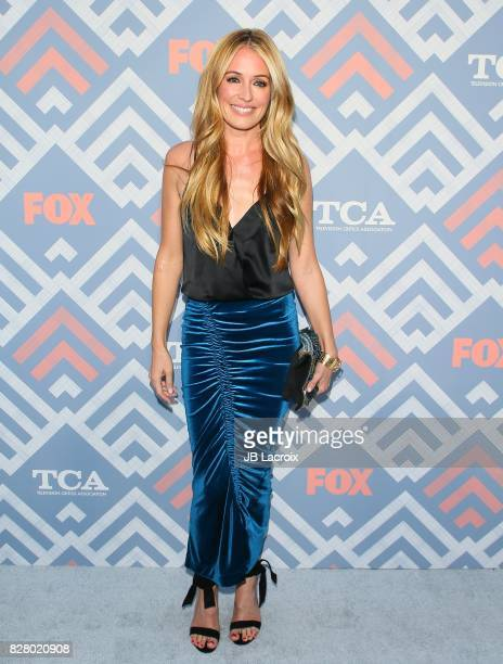 Cat Deeley attends the 2017 Summer TCA Tour 'Fox' on August 08 2017 in Los Angeles California