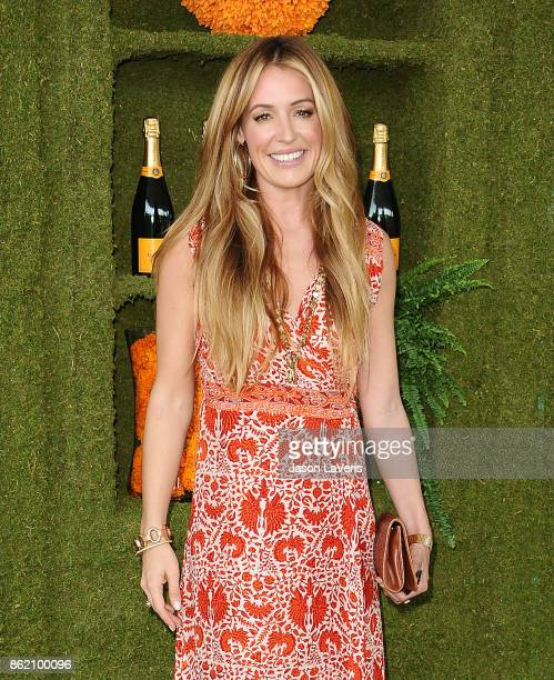 Cat Deeley attends the 8th annual Veuve Clicquot Polo Classic at Will Rogers State Historic Park on October 14 2017 in Pacific Palisades California