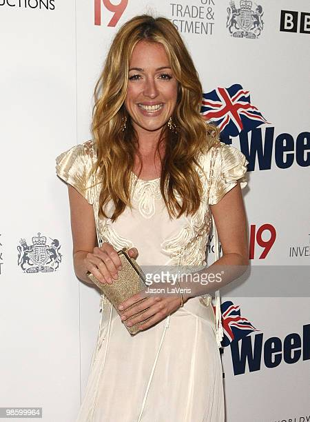 Cat Deeley attends the BritWeek champagne launch red carpet event at the British Consul General's residence on April 20 2010 in Los Angeles California