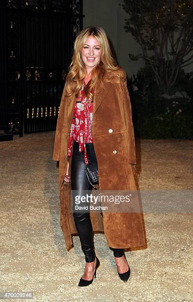 Cat Deeley attends the Burberry 'London in Los Angeles' event at Griffith Observatory on April 16 2015 in Los Angeles California