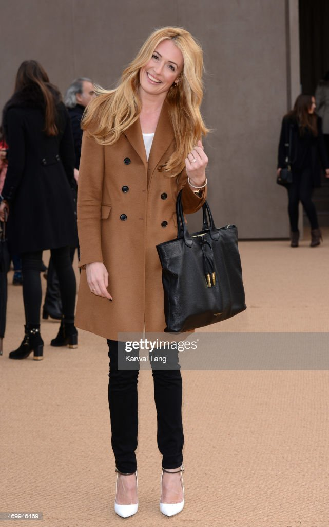 <a gi-track='captionPersonalityLinkClicked' href=/galleries/search?phrase=Cat+Deeley&family=editorial&specificpeople=202554 ng-click='$event.stopPropagation()'>Cat Deeley</a> attends the Burberry Prorsum show at London Fashion Week AW14 at Kensington Gardens on February 17, 2014 in London, England.