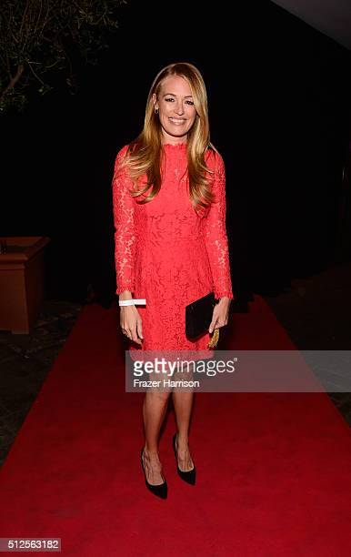 Cat Deeley attends the Film is GREAT Reception at Fig Olive on February 26 2016 in West Hollywood California