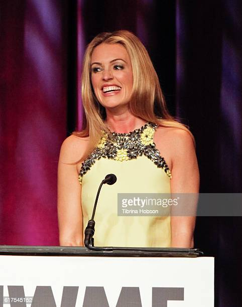 Cat Deeley attends the International Women's Media Foundation 27th annual Courage In Journalism Awards at the Beverly Wilshire Four Seasons Hotel on...