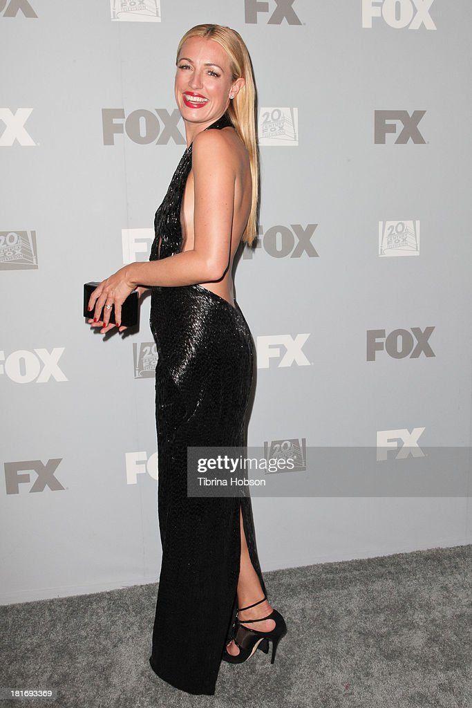 <a gi-track='captionPersonalityLinkClicked' href=/galleries/search?phrase=Cat+Deeley&family=editorial&specificpeople=202554 ng-click='$event.stopPropagation()'>Cat Deeley</a> attends the Twentieth Century FOX Television and FX Emmy Party at Soleto on September 22, 2013 in Los Angeles, California.