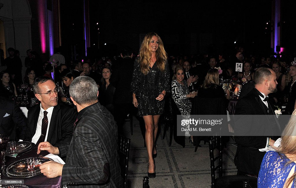 Cat Deeley attends The WGSN Global Fashion Awards at the Victoria & Albert Museum on October 30, 2013 in London, England.