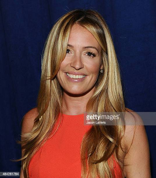 Cat Deeley poses in the green room at the 2015 Teen Choice Awards at Galen Center on August 16 2015 in Los Angeles California