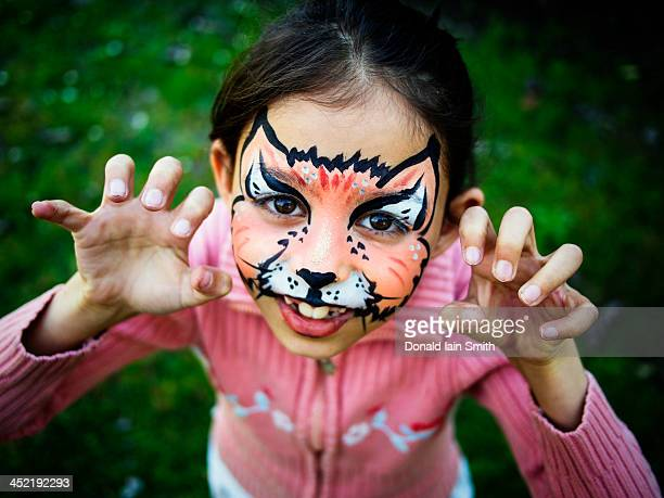 Cat facepaint