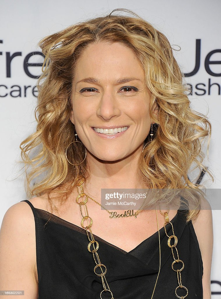 Cat Greenleaf attends the Jeffrey Fashion Cares 10th Anniversary Celebration at The Intrepid on April 2, 2013 in New York City.