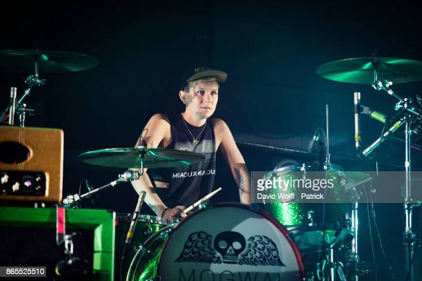 Cat Myers from Mogwai performs at Le Grand Rex on October 23 2017 in Paris France