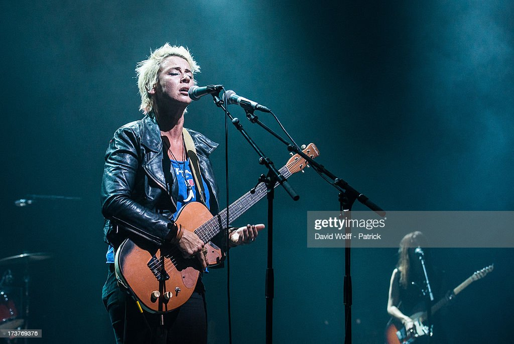 Cat Power performs at L'Olympia on July 17, 2013 in Paris, France.