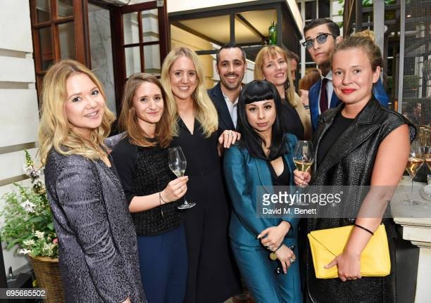 Cat Roach Laura Urquhart Alice Wellings Julien Foussadier Jet Luna Marie Le Vavasseur Jimmy Q and Laura SewardSmith attend the GQ Bar popup launch...