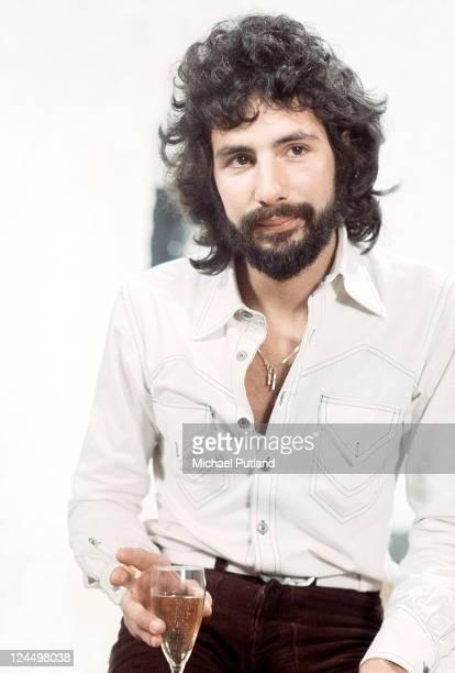 Cat Stevens portrait London March 1974