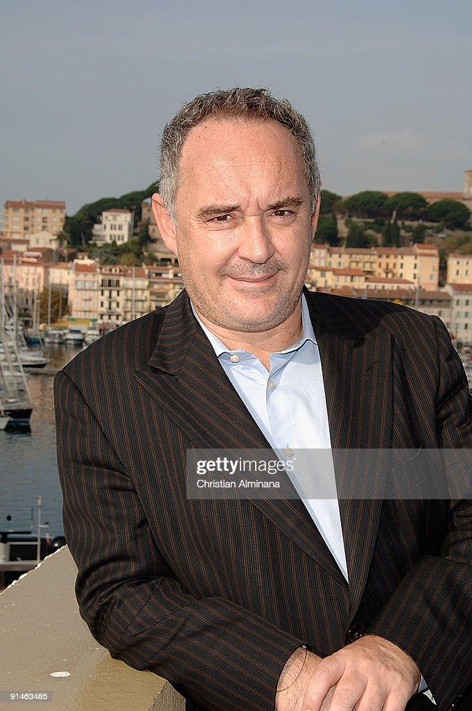 "Ferran Adria Presents ""Canal Cultura"" - Photocall - 25th MIPCOM"