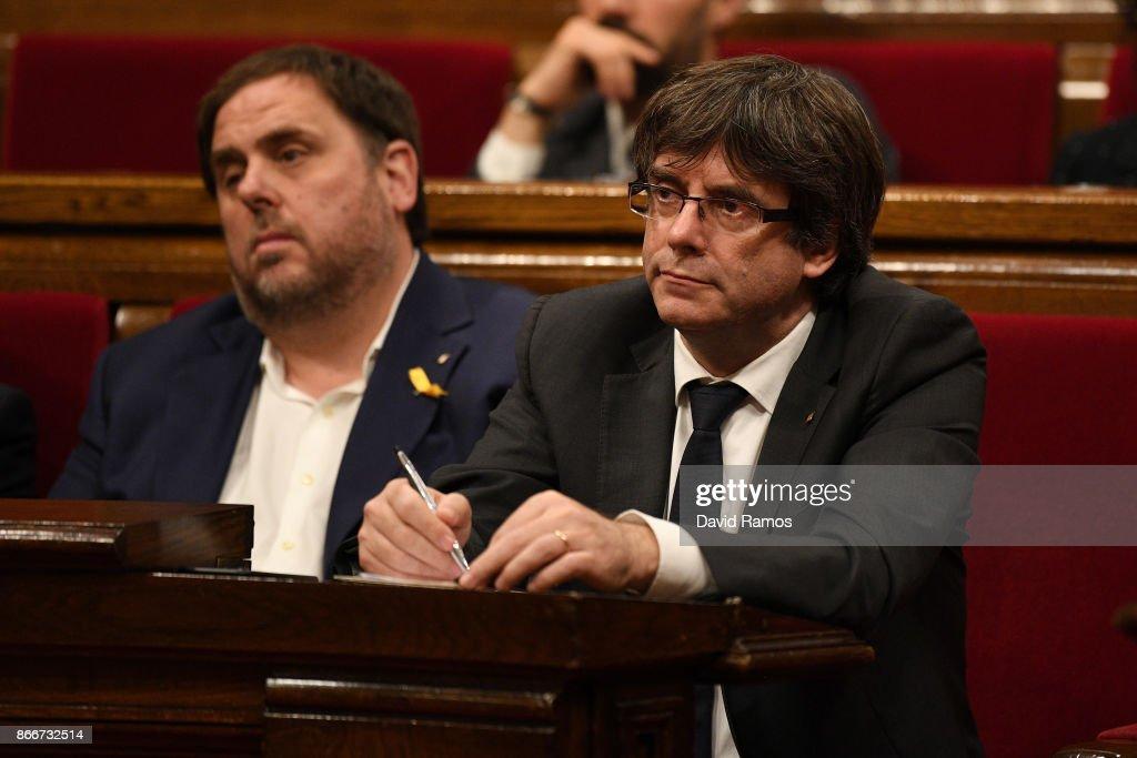 Rising Tension In Catalan Political Crisis