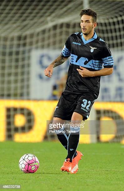 Cataldi Danilo in action during the Serie A match between AC Chievo Verona and SS Lazio at Stadio Marc'Antonio Bentegodi on August 30 2015 in Verona...
