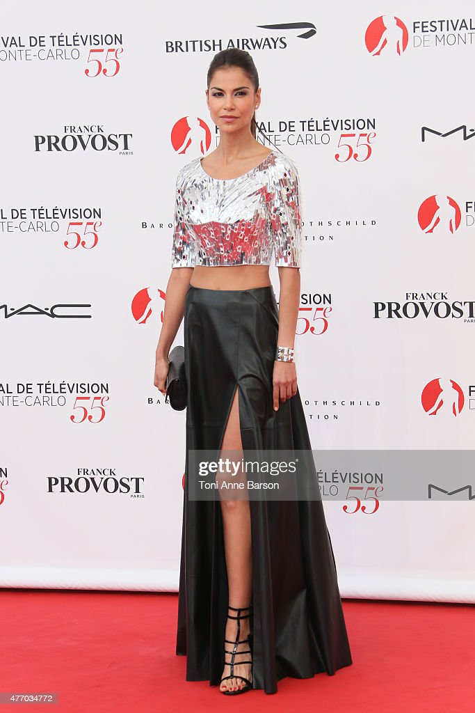 Catalina Denis attends the 55th Monte Carlo TV Festival Opening Ceremony at the Grimaldi Forum on June 13, 2015 in Monte-Carlo, Monaco.