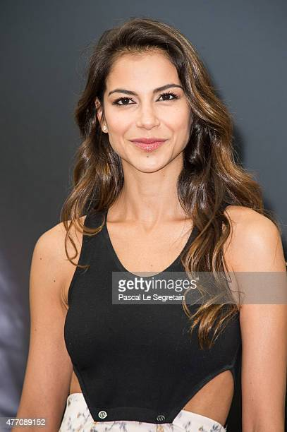 Catalina Denis poses at a photocall for the TV series 'PEP'S' during the 55th Monte Carlo TV Festival on June 14 2015 in MonteCarlo Monaco
