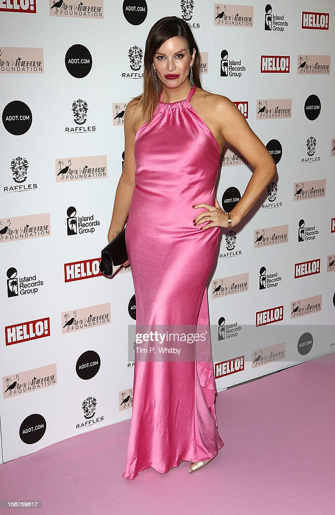 Catalina Guirado attends The Amy Winehouse Foundation Ball at The Dorchester Hotel on November 20, 2012 in London, England.