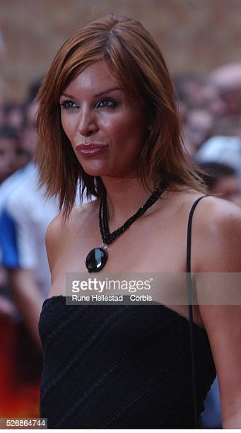 Catalina Guirado attends the premiere of 'The Chronicles of Riddick' at Vue Cinema Leicester Square