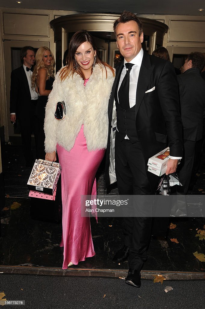 Catalina Guirado sighting at The Dorchester Hotel on November 20, 2012 in London, England.