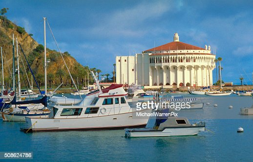 Catalina Island - Avalon Harbor : Stock Photo