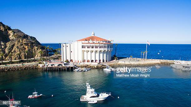Catalina Island's famous landmark, the Casino.