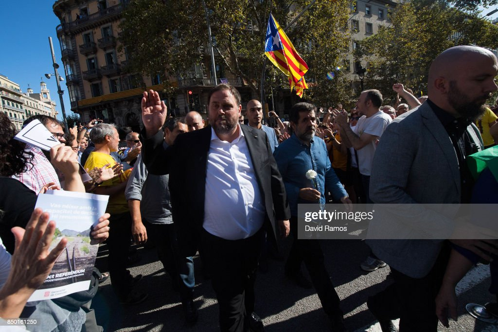 Spanish Police Storm Catalan Government Buildings