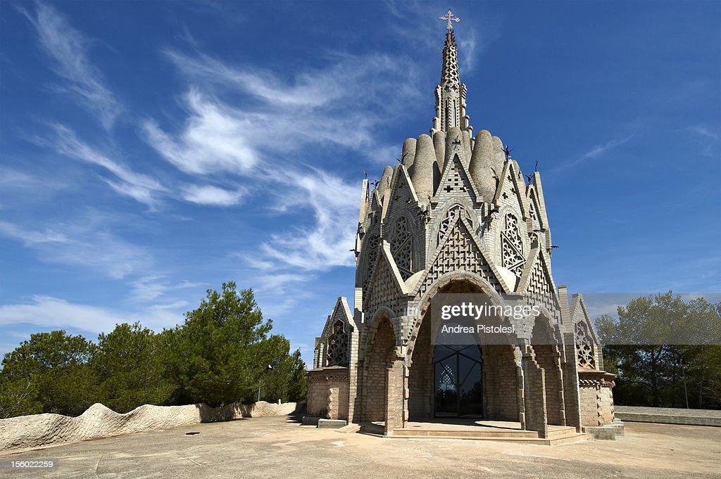 Catalonia Wine Region, Modernist architecture : Stock Photo