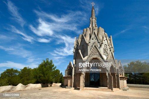 Catalonia Wine Region, Modernist architecture : Foto de stock