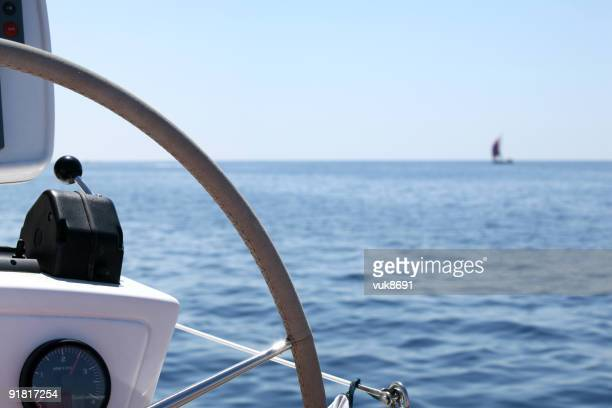 Navigation sur Catamaran détail