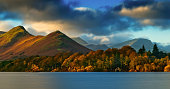 Catbells across Derwentwater in the English Lake District.