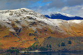 catbells and grisedale pike in the lake district,cumbria,england