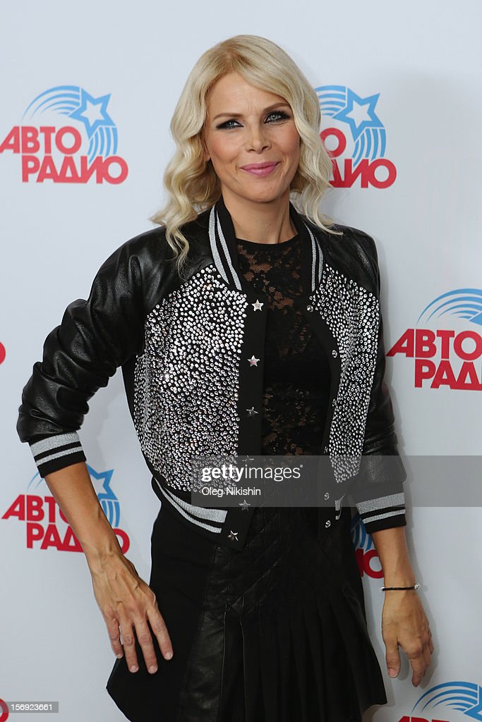 C.C. Catch attends the 'Disco Of The 80th Rock & Dance' in Olympisky on November 24, 2012 in Moscow, Russia.