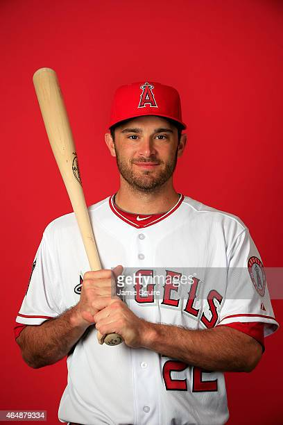 Catcher Drew Butera poses during Los Angeles Angels of Anaheim Photo Day on February 28 2015 in Tempe Arizona