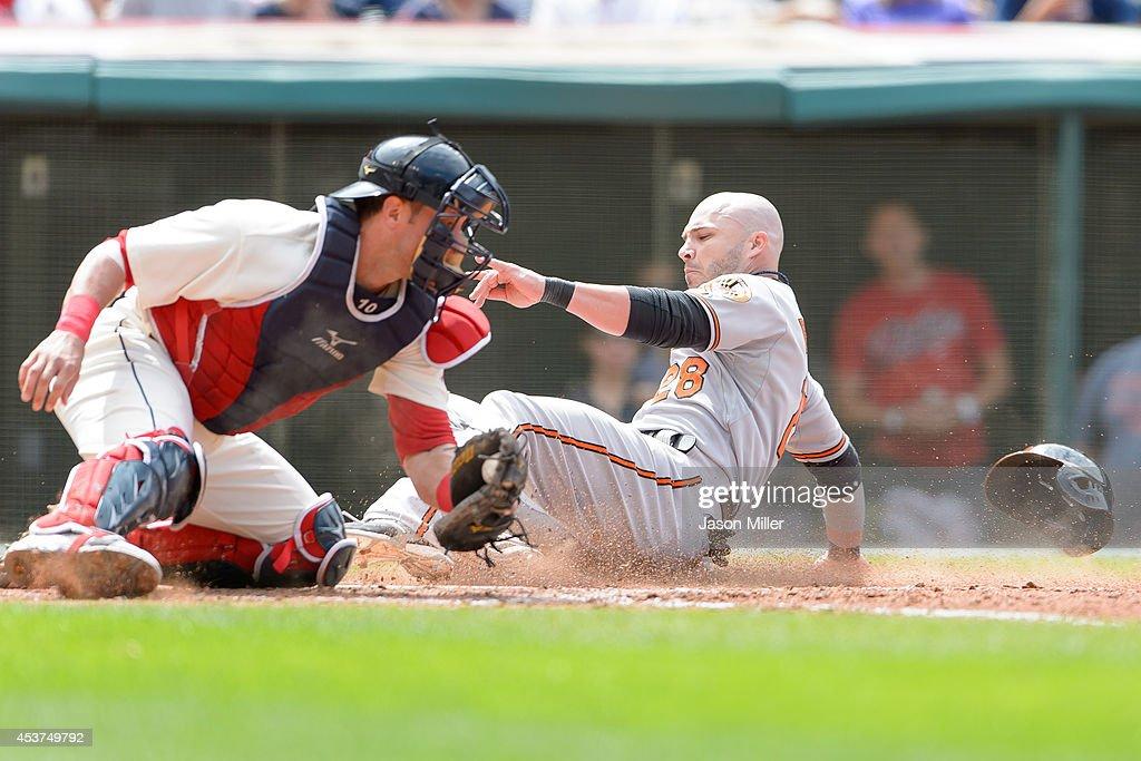 Baltimore Orioles v Cleveland Indians