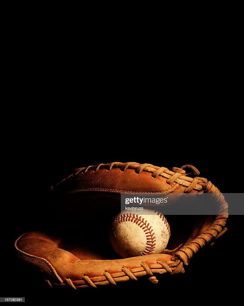 Catchers Glove and Baseball
