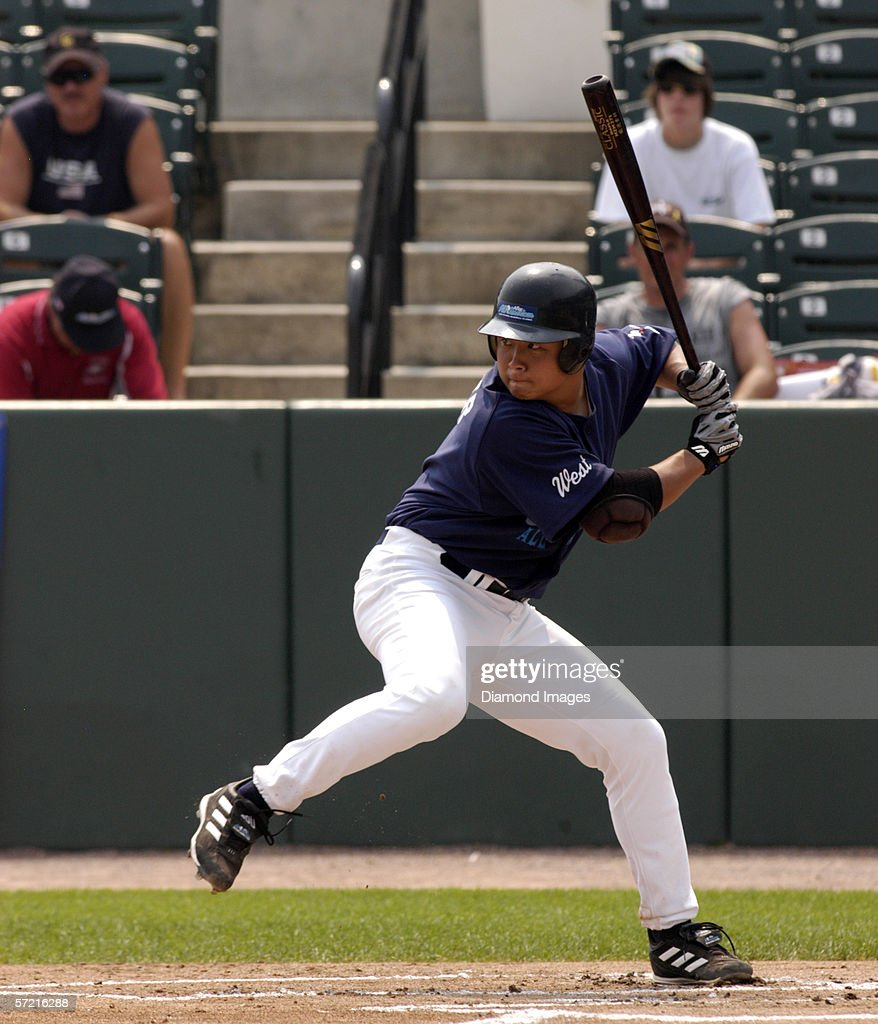 Huntington beach california stock photos and pictures getty images - Catcher Thirdbaseman Hank Conger From Huntington Beach High School In Huntington Beach California