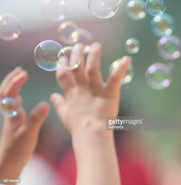Attraper des bulles