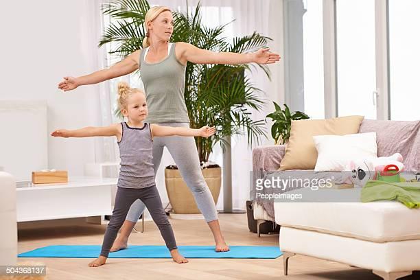 Prendere un po'di zen con la mamma