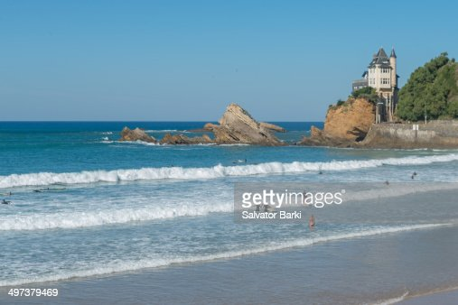 Catching the waves in Biarritz