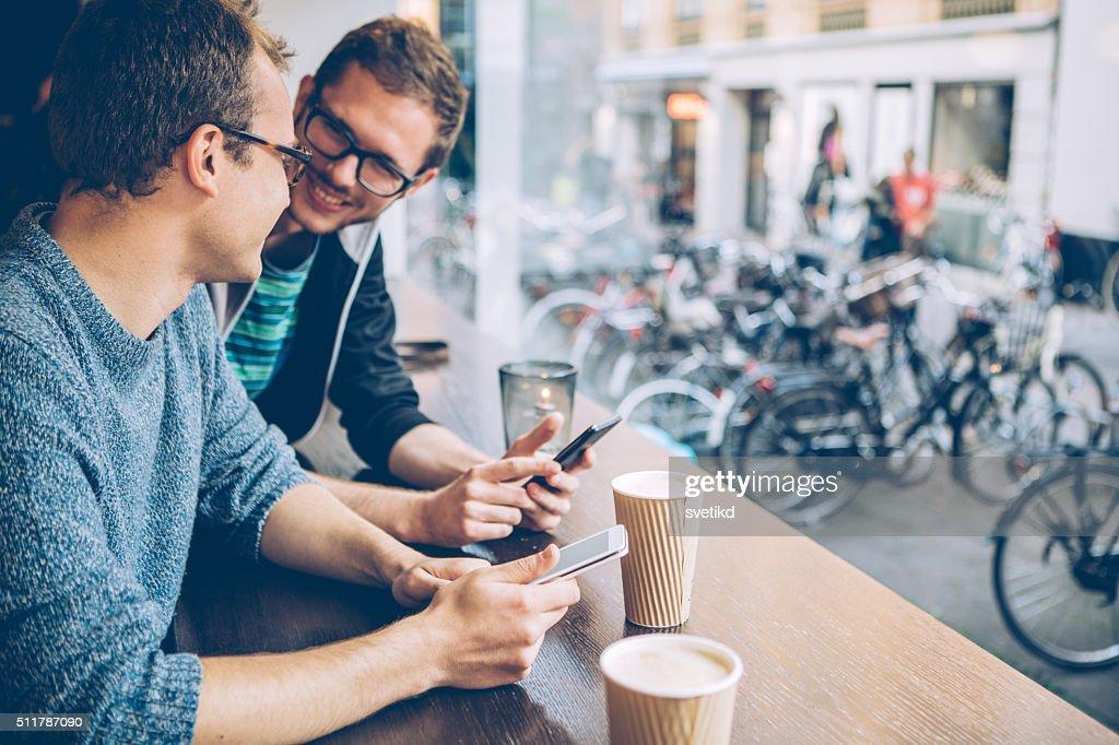 Ein Treffen mit Freunden : Stock-Foto